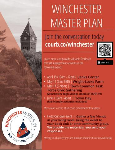 Master plan meeting flier