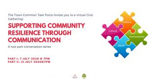 Civic Gathering: Supporting Community Resilience Through Communication